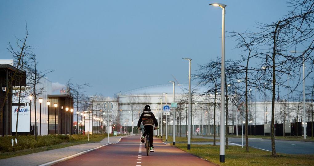 Inschrijven voor circulair fietspad in haven Amsterdam