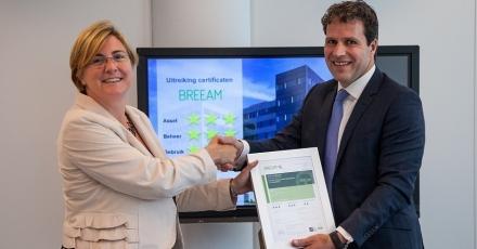 Integrale duurzame prestaties van Amstelveens kantoor