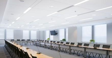 Integratie technische elementen in plafond