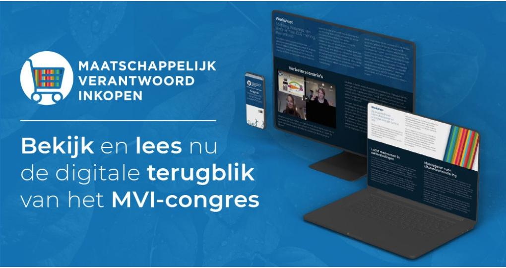 Interactief terugblikken op het MVI Congres