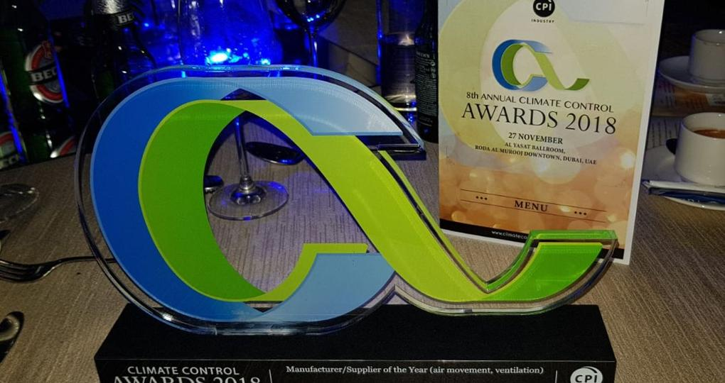 IntrCooll van Oxycom wint Climate Control Award