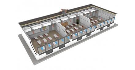 Introductie vraaggestuurd ventilatiesysteem voor schoolgebouwen