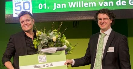 Jan Willem van de Groep wint Duurzame 50 Vastgoed NL