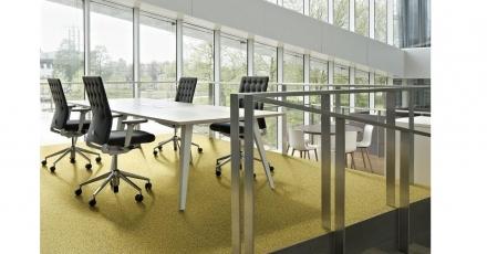 Kalk is materiaalstroom voor tapijt