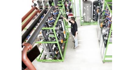 Kant en klare duurzame energie-installatie