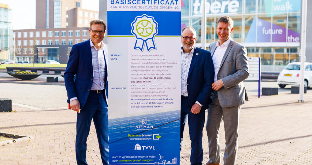 Kennisinstituten gaan voor realisatie van aardgasvrije gebouwen en gebieden Leeuwarden
