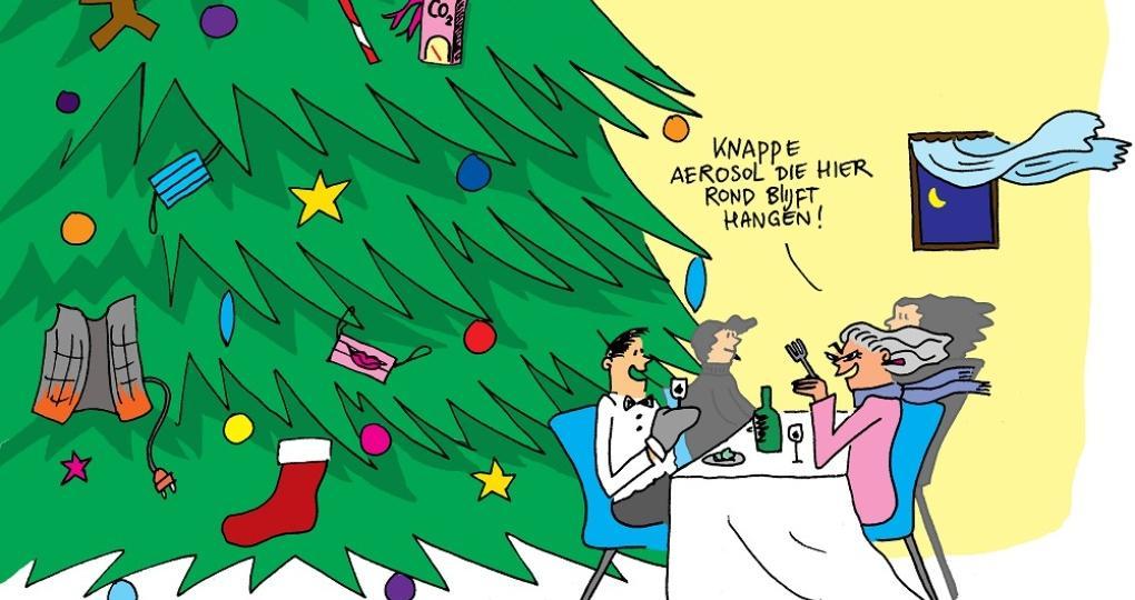 Kerstdis zonder risico: 10 tips voor een aerosol-arme kerst