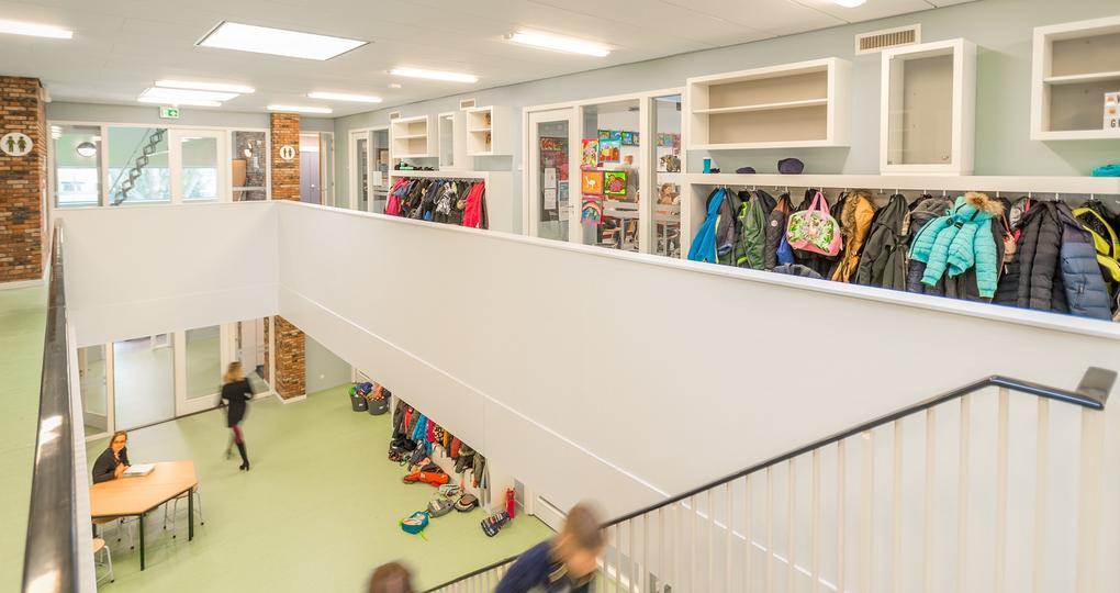 Klimaatconcept voorziet basisschool van gezond binnenklimaat