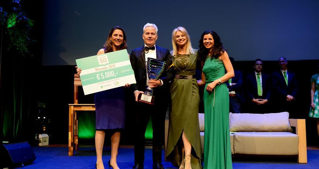 Koplopers worden bekroond tijdens achtste editie ABN AMRO Duurzame 50