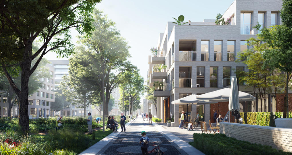 Langer leven in nieuwe Utrechtse Blue District