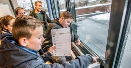 Leerlingen controleren energieverbruik scholen