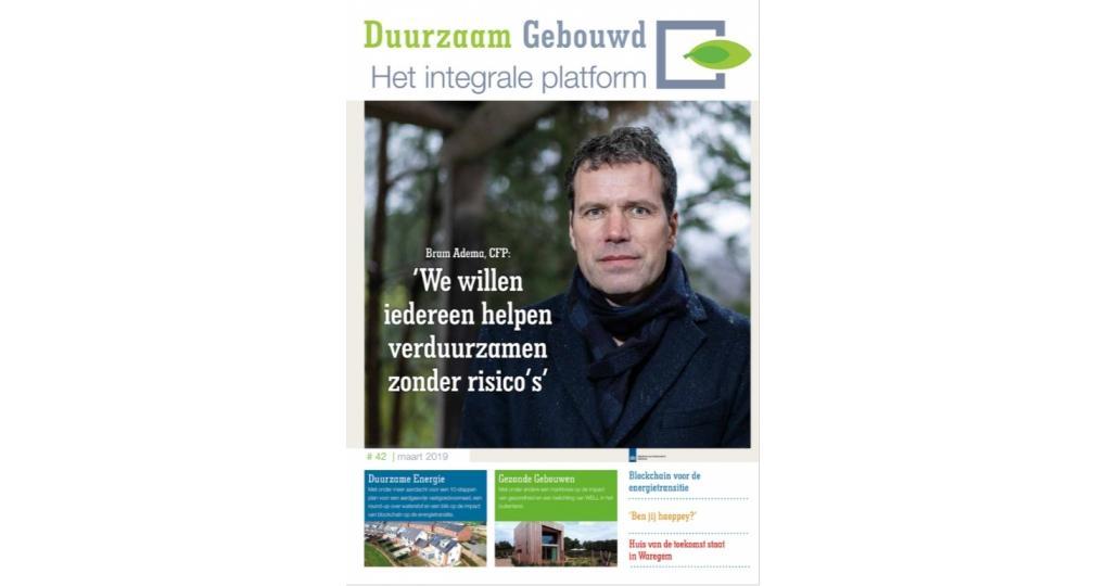 Lees het Duurzaam Gebouwd Magazine ook digitaal