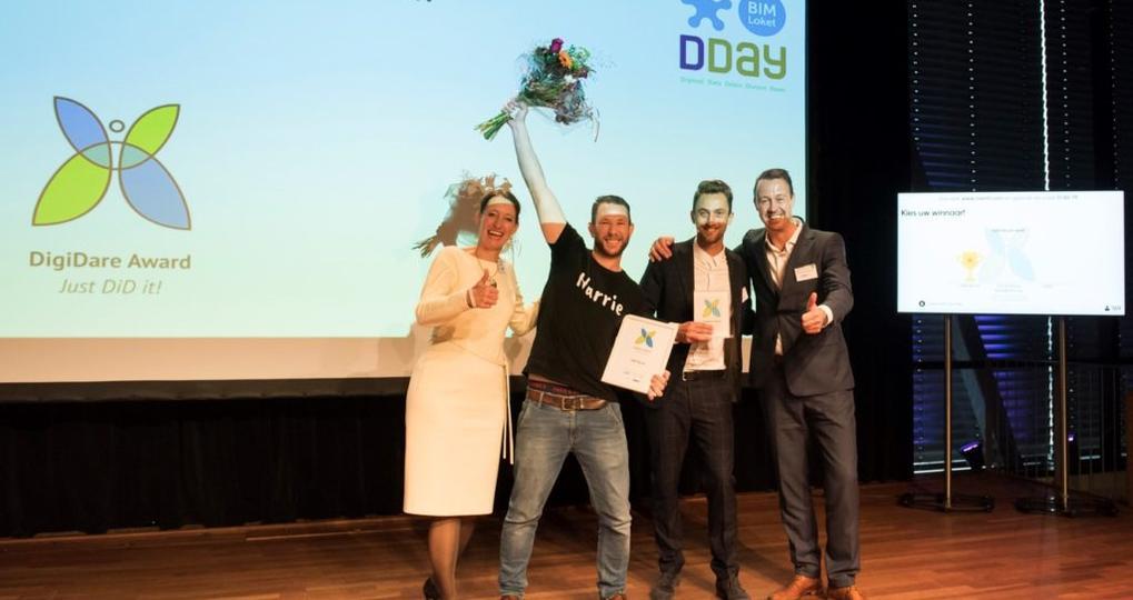 Stuur jouw pitch in voor DigiDare Award 2020