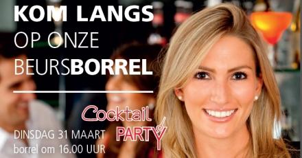 Leg de verbinding tijdens Cocktail Party op Building Holland