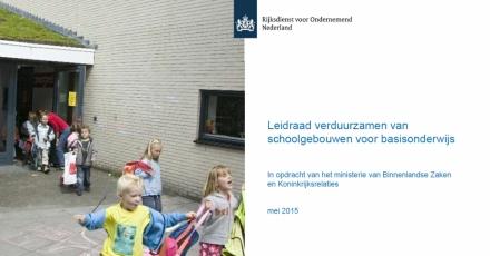Leidraad verduurzamen van schoolgebouwen voor basisonderwijs