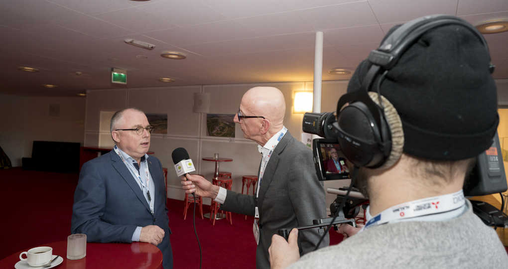 Interviews tijdens Duurzaam Gebouwd LIVE
