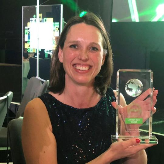 Lizette van Zuilen BREEAM Assessor of the Year 2019
