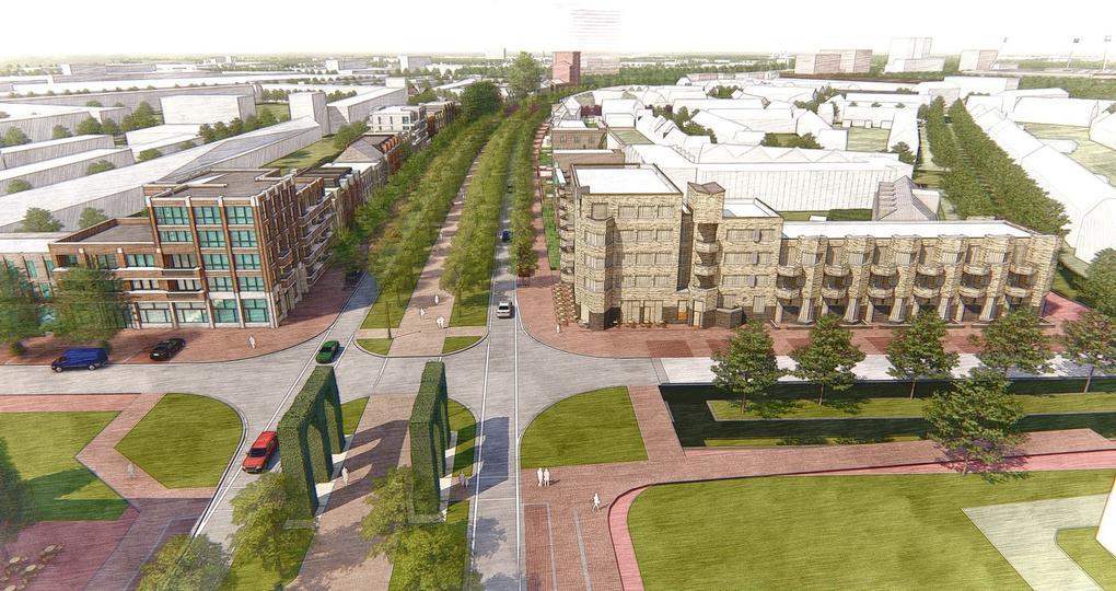 Maastricht bouwt duurzame wijk 'bovenop' snelweg A2