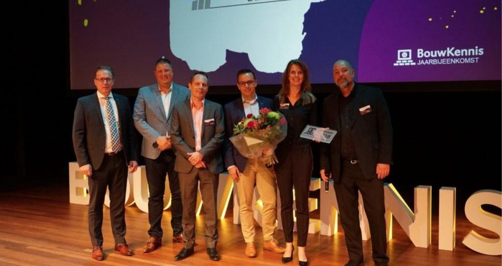 Marktleider in gipsproducten wint BouwKennis Jaarprijs 2018