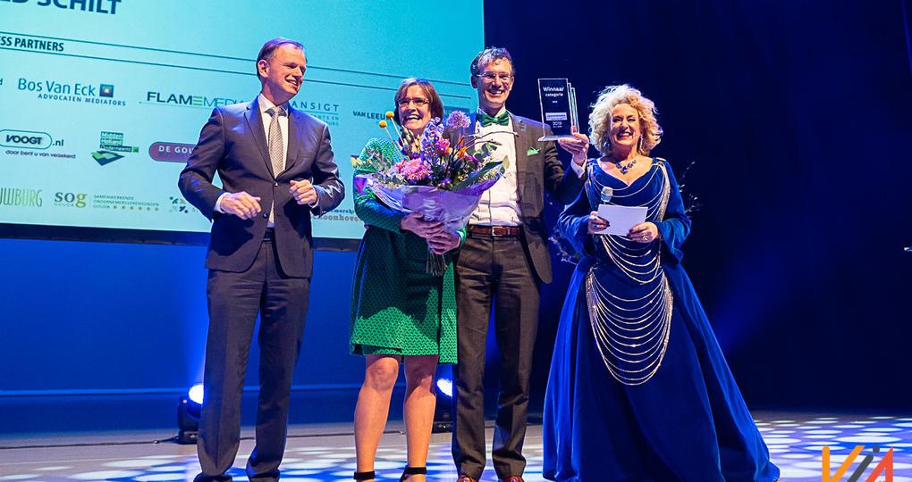Merosch wint Ondernemersprijs Midden-Holland