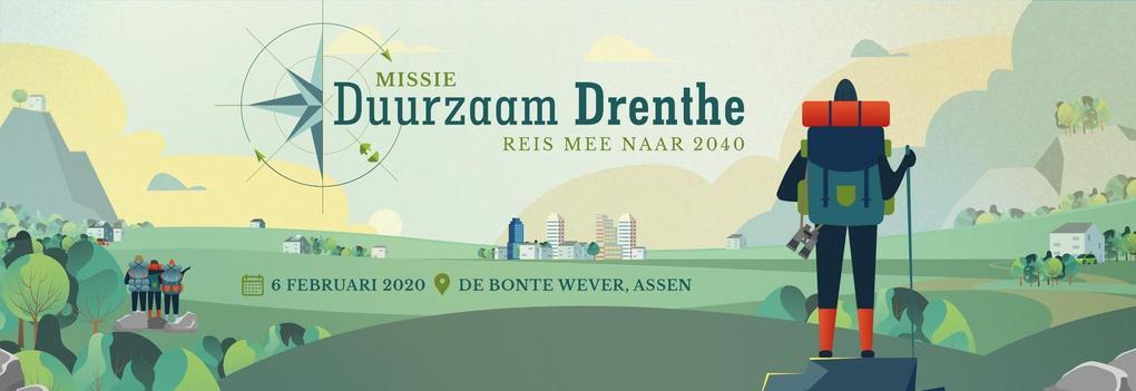 Missie Duurzaam Drenthe vanaf 6 februari 2020 uit de startblokken