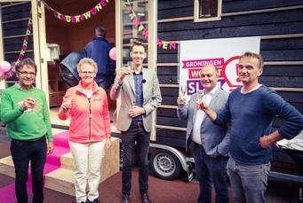 Mobiele winkel voor duurzaam wonen in Groningen