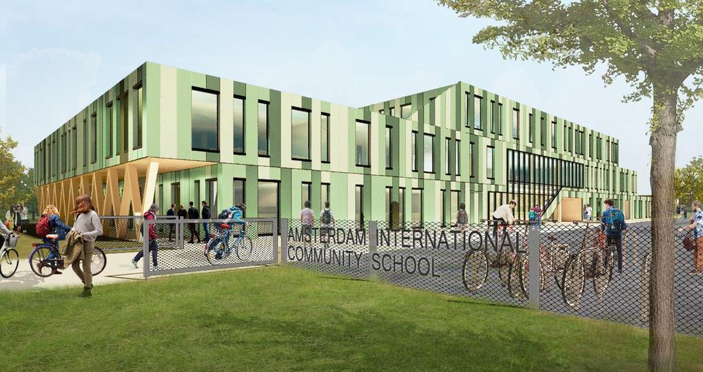 Modulair schoolgebouw in Amsterdam dankzij Brexit
