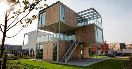 Modulaire en duurzame woning wint projectprijs