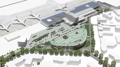 Multifunctioneel gebouw met BREEAM op luchthaven Eindhoven