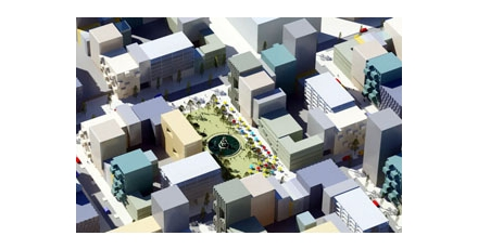 MVRDV ontwerpt deel Olympiakwartier in Almere