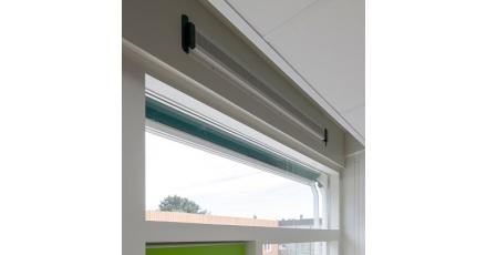 Natuurlijke ventilatie in Brede School De Schakel