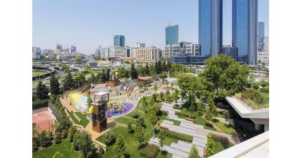 Nederlandse bedrijven realiseren duurzame speelplek Istanbul