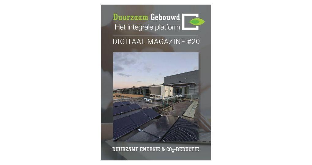 Nieuw: digimagazine Duurzame energie & CO2-reductie