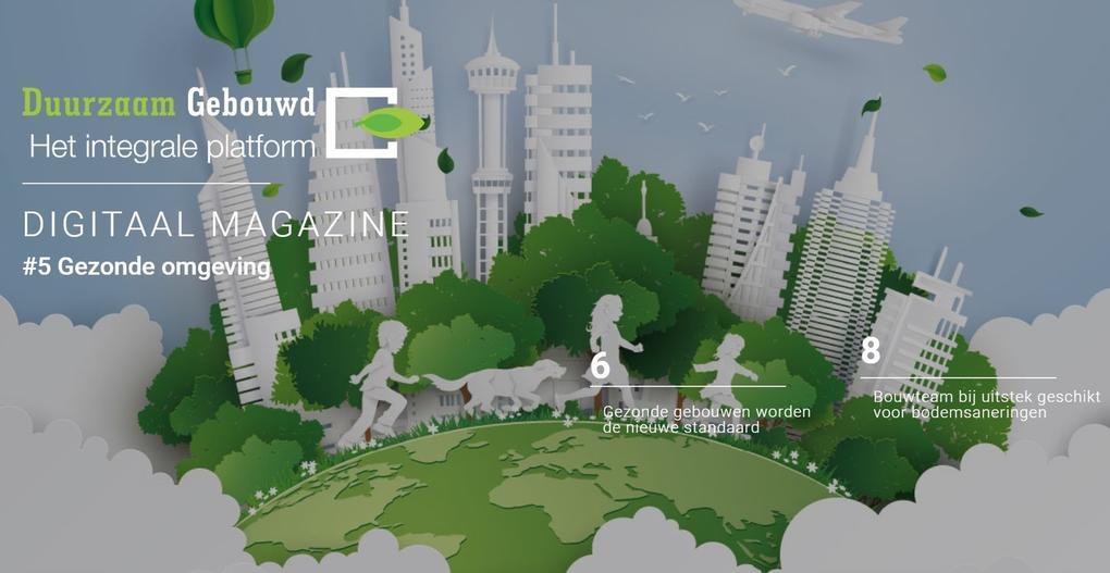 Nieuw: digimagazine Gezonde Omgeving