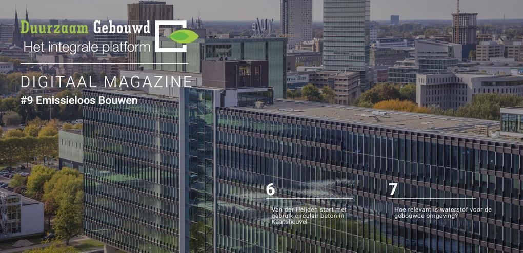 Nieuw: Digitaal magazine Emissieloos Bouwen