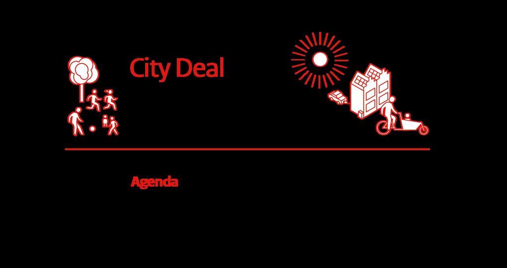 Nieuwe City Deal verbindt energietransitie aan leefbaarheid