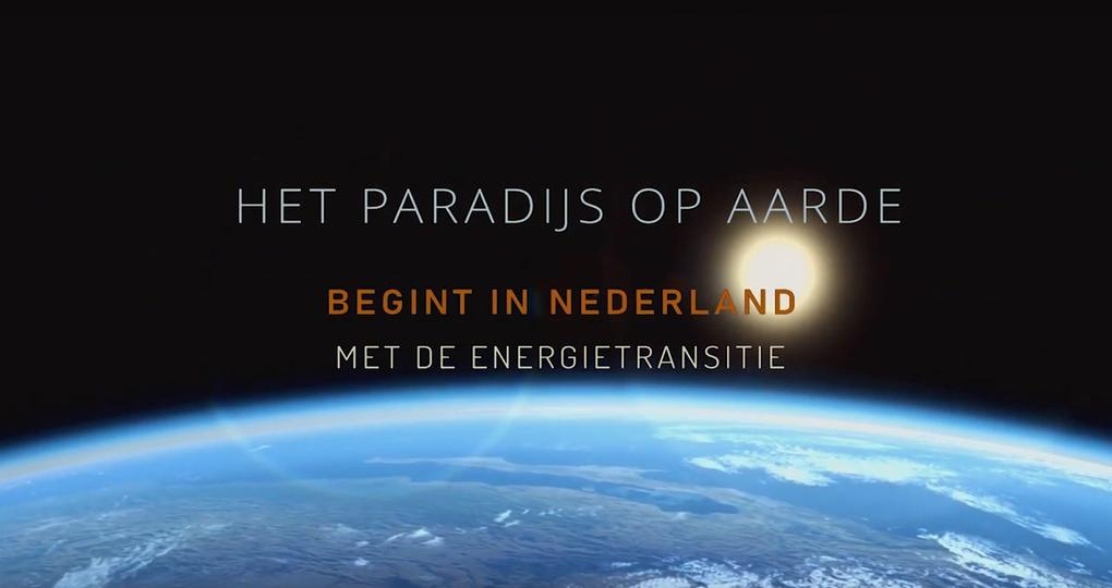 Nieuwe film over energietransitie: Het paradijs op aarde begint in Nederland