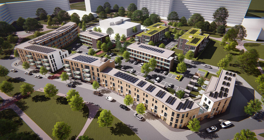 Nieuwe woningen in Duivendrecht alsnog 'gasloos'