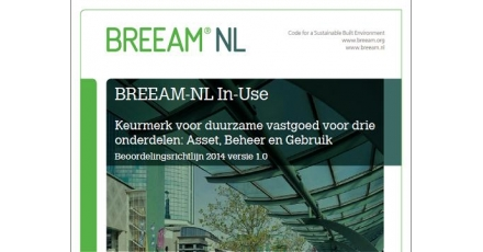 Nieuwe BREEAM-NL beoordelingsrichtlijn In-Use
