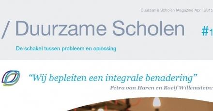 Nieuwe titel: Duurzame Scholen Magazine