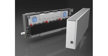 Nieuwe WTW radiator regelt ventilatie