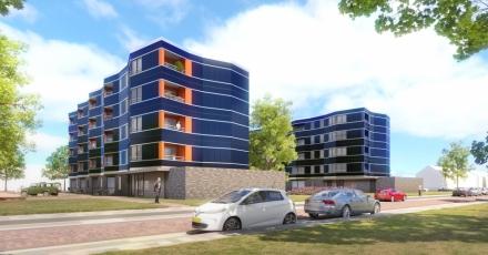 NoM-appartementen in 2 flatgebouwen