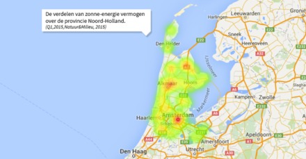 Noord-Holland en West-Friesland voorop met zonne-energie