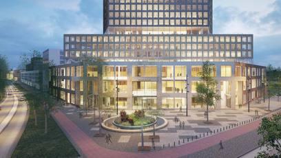 Officiële start bouw gerechtsgebouw Breda