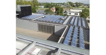 Zonne-energieprojecten in goede samenwerking voltooid