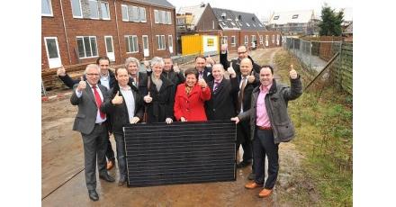Onderscheidend project in sociale woningbouw