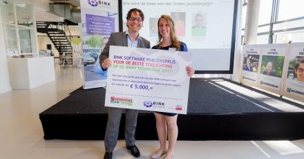 Onderzoekster geluidsbeleving patiënten wint publieksprijs