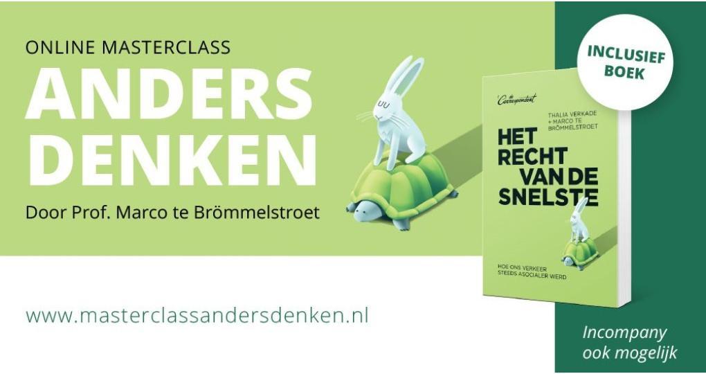 Online Masterclass 'Anders denken'