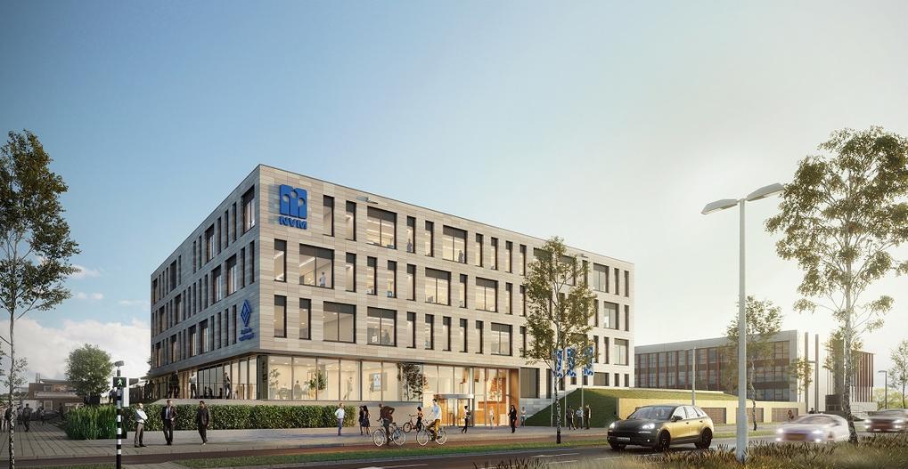 Ontwerp én bouw zorgt voor transparant en duurzaam kantoor NVM Makelaars