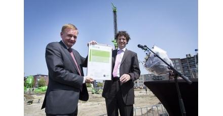 Ontwerp nieuw stadhuis bekroond met BREEAM-certificaat